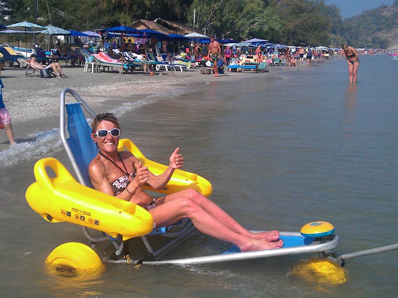 Beach-wheelchair-floating